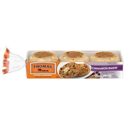 Thomas' Cinnamon Raisin English Muffins