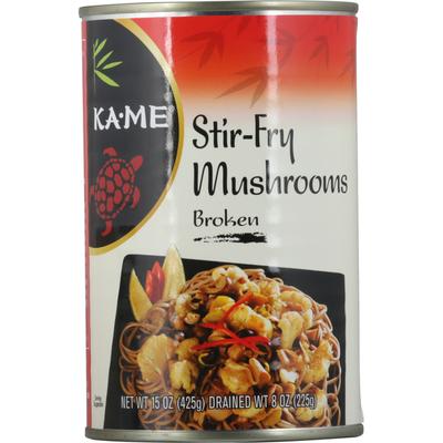 Ka-Me Mushrooms, Stir-Fry, Broken