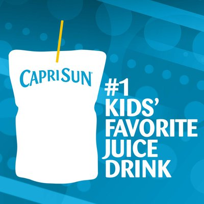 Capri Sun Grape Naturally Flavored Juice Drink Blend