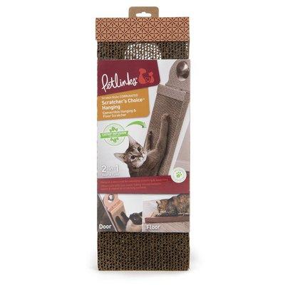 SmartyKat Scratch Up Corrugate Hanging Cat Scratcher Toy