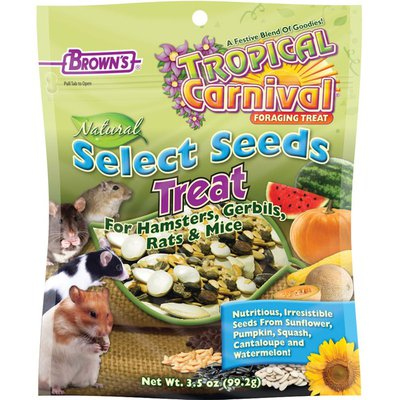 Brown's Tropical Carnival Natural Select Seeds Treat for Hamsters, Gerbils, Rats & Mice
