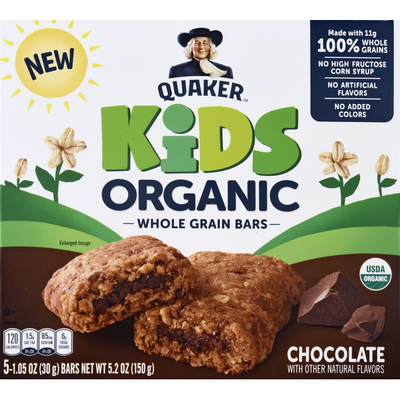 Quaker Chocolate With Other Natural Flavors Snacks