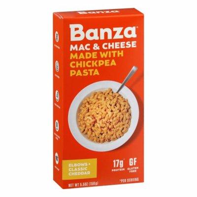 Banza Mac & Cheese, Elbows + Classic Cheddar