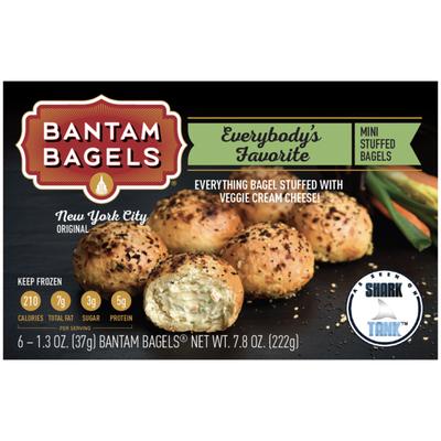 Bantam Bagels Mini Stuffed Bagels, Everybody's Favorite