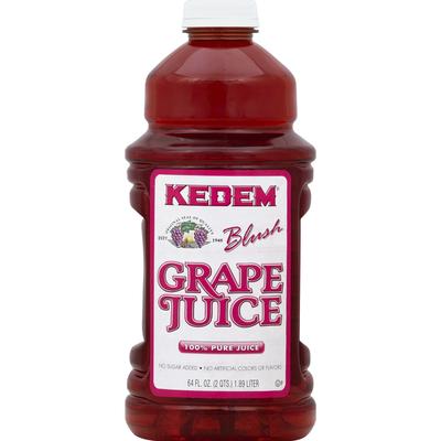 Kedem 100% Juice, Pure, Blush Grape