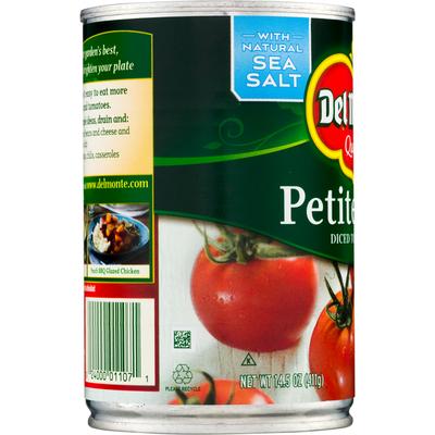 Del Monte Petite Cut Diced Tomatoes