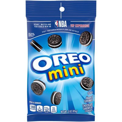 Oreo Mini Chocolate Sandwich Cookies, Original Flavor, 1 Big Bag