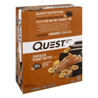 Quest Quest Protein Bar, Chocolate Peanut Butter