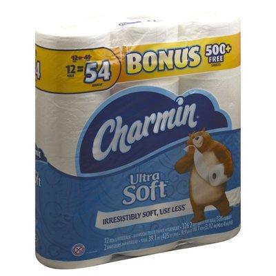 Charmin Ultra Soft Mega Rolls Toilet Paper