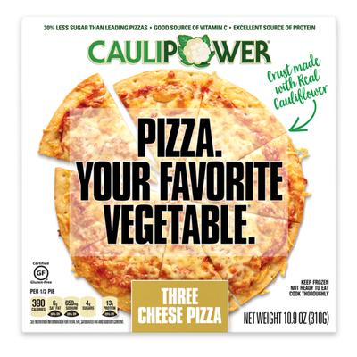 Caulipower Three Cheese Cauliflower Crust Pizza