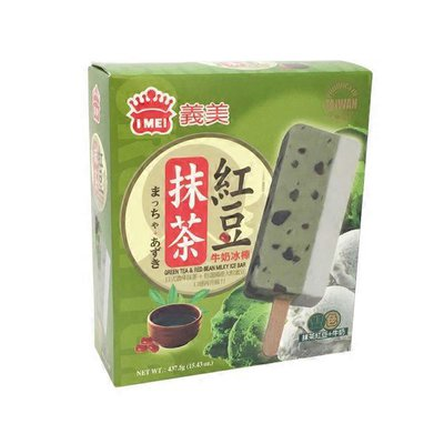 I Mei Green Tea W/Red Bean Ice Bar