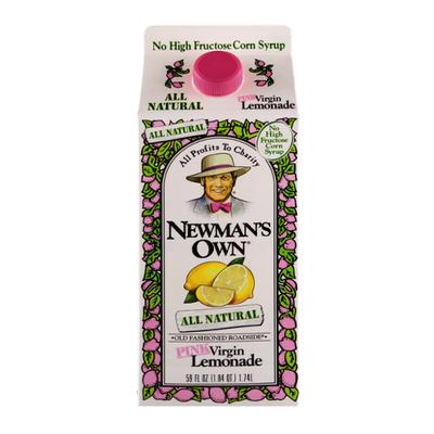 Newman's Own Lemonade, Pink Virgin, Old Fashioned Roadside