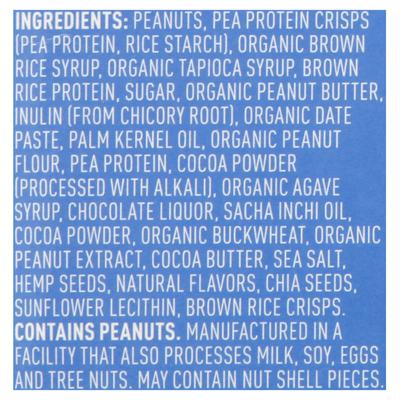 Vega Chocolate Peanut Butter Protein Snack Bar Case
