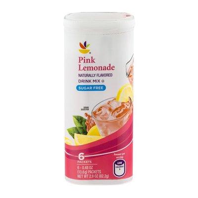 SB Pink Lemonade Drink Mix Sugar Free - 6 CT