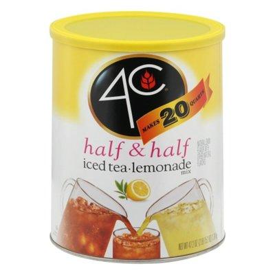 4C Foods Half & Half Mix, Iced Tea/Lemonade