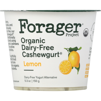 Forager Project Lemon Dairy-Free Cashewgurt