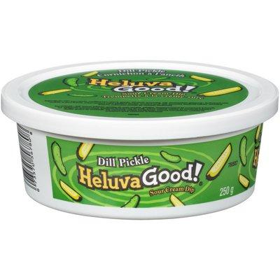 Heluva Good! Dill Pickle Sour Cream Dip