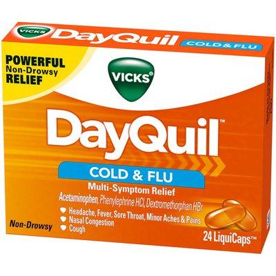 Vicks Medicine, Daytime, Non-Drowsy Relief