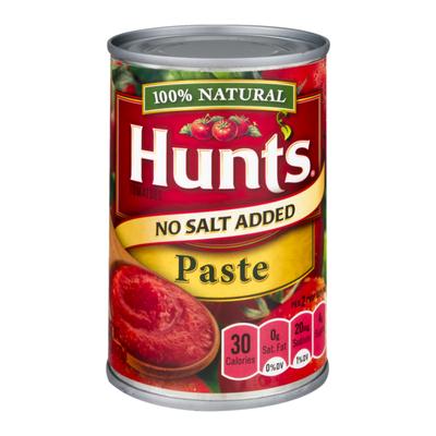 Hunt's Tomato Paste No Salt Added