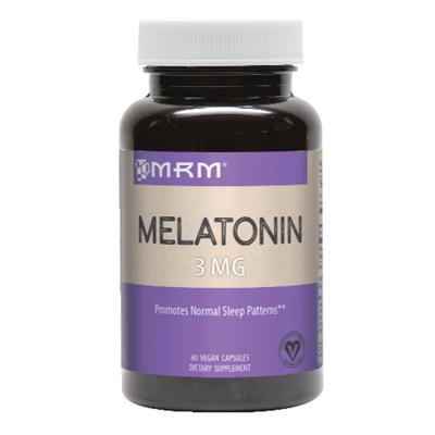 MRM Melatonin, 3 mg, Vegetarian Capsules