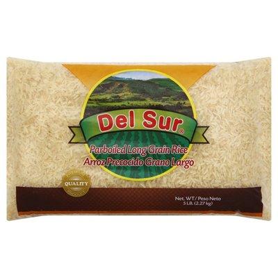 Del Sur Rice, Long Grain, Parboiled