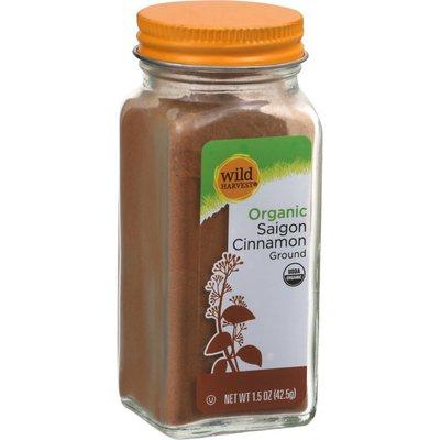 Wild Harvest Cinnamon, Saigon, Organic, Ground