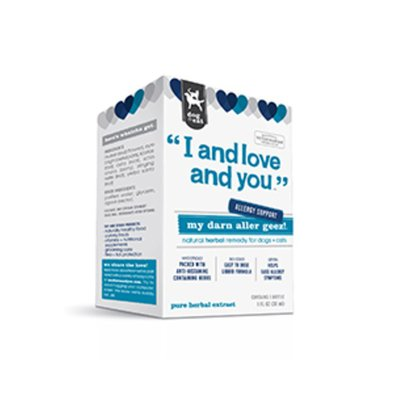 I and love and you. My Darn Aller Geez! Supplement for Dogs & Cats
