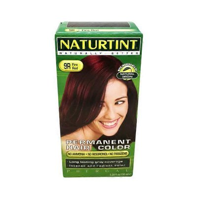 Naturtint Permanent Hair Colorant, 9R Fire Red