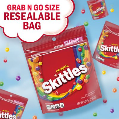 Skittles Original Fruity Candy Grab n Go Size