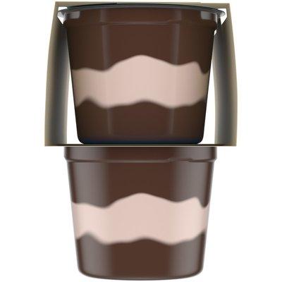 Jell-O Chocolate Vanilla Swirls Sugar Free Ready-to-Eat Pudding Snacks