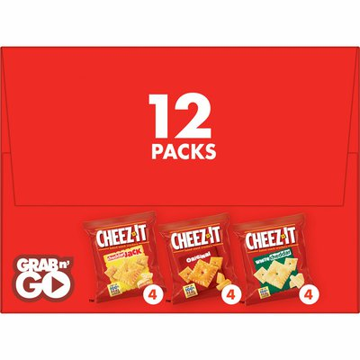 Cheez-It Cheese Crackers, Baked Snack Crackers, Office and Kids Snacks