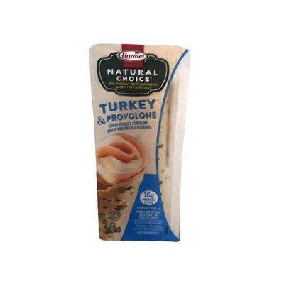 Hormel Turkey & Provolone Wrapped In A Flatbread Hormel Natural Choice Turkey & Provolone Wrapped In A Flatbread