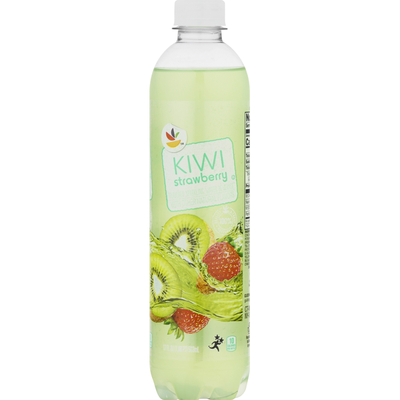 Giant Brand Water Beverage, Kiwi Strawberry Flavored, Sparkling