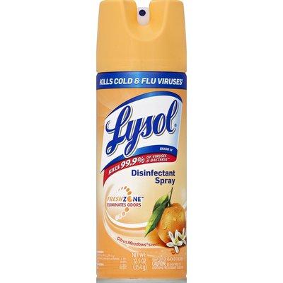 Lysol Disinfectant Spray, Citrus Meadows Scent