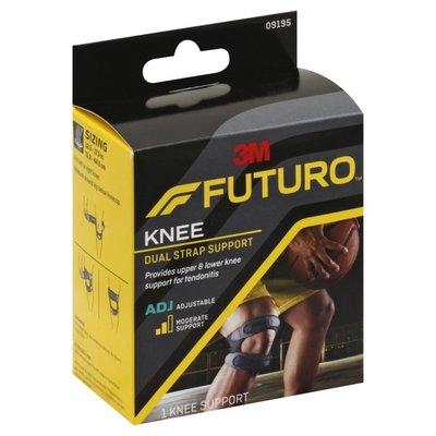 FUTURO Knee Support, Dual Strap, Adjustable