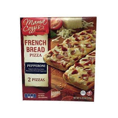 Mama Cozzi's Pizza Kitchen Pepperoni French Bread Pizza