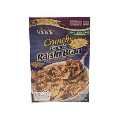 Millville Crunchy Granola Raisin Bran Cereal