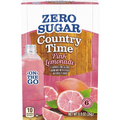 Country Time Pink Lemonade Naturally Flavored Powdered Drink Mix