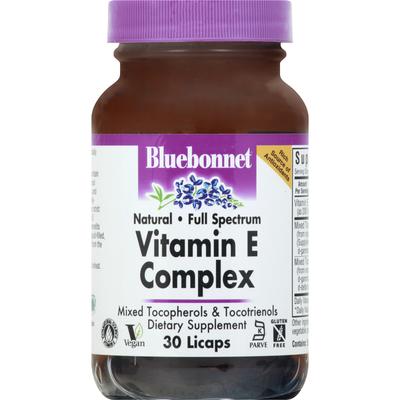 Bluebonnet Vitamin E Complex, Licaps