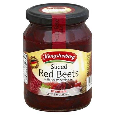 Hengstenberg Red Beets, Sliced