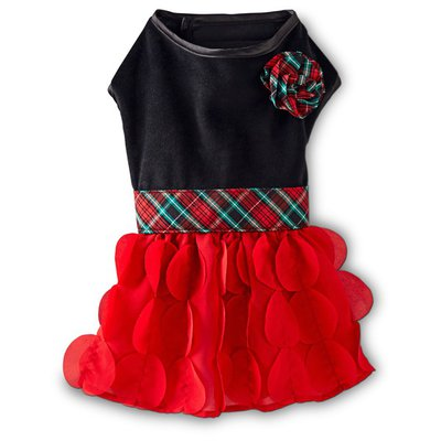Petco Holiday Party Dog Dress Small