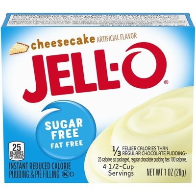 Jell-O Cheesecake Sugar Free & Fat Free Instant Pudding & Pie Filling Mix