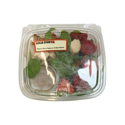 Spinach Berry & Grilled Chicken Salad