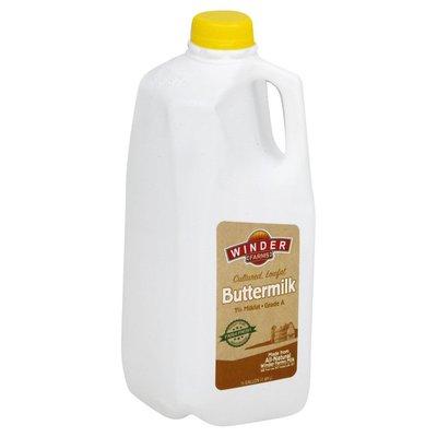 Winder Farms Buttermilk, Lowfat, Cultured, 1% Milkfat
