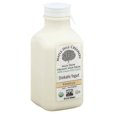 Maple Hill Creamery Drinkable Vanilla Yogurt