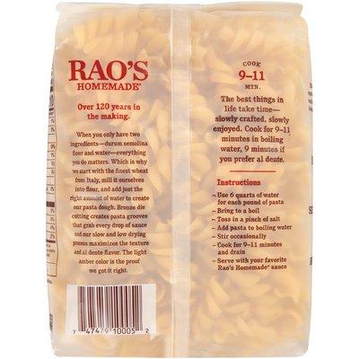 Rao's Homemade Fusilli Macaroni Product