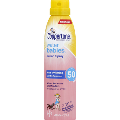 Coppertone WaterBabies SPF 50 Continuous Spray Sunscreen
