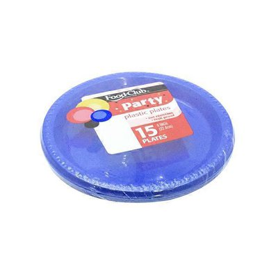 "Food Club 9"" Plastic Party Plates"