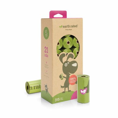 Earth Rated Lavender Refill Dog Waste Bags