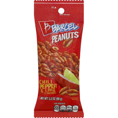 Barcel Peanuts, Hot Chili Pepper & Lime, Hot